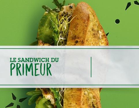 LE SANDWICH DU PRIMEUR