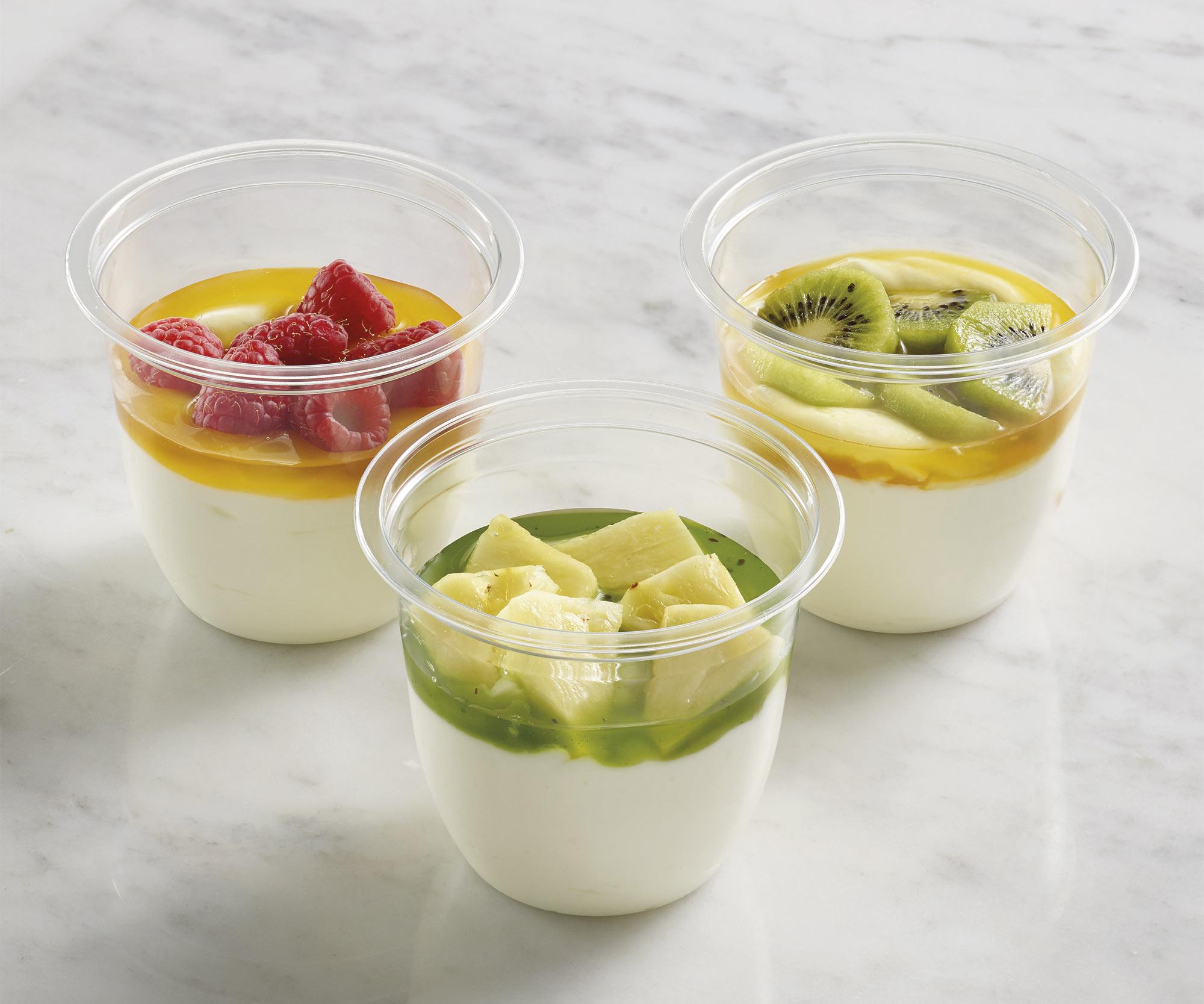 FROMAGE BLANC 0% FRUITS ET COULIS DE FRUITS